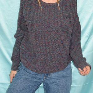 AMERICAN APAREL multi color sweater